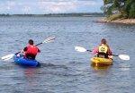 Активный отдых на природе, отдых на воде